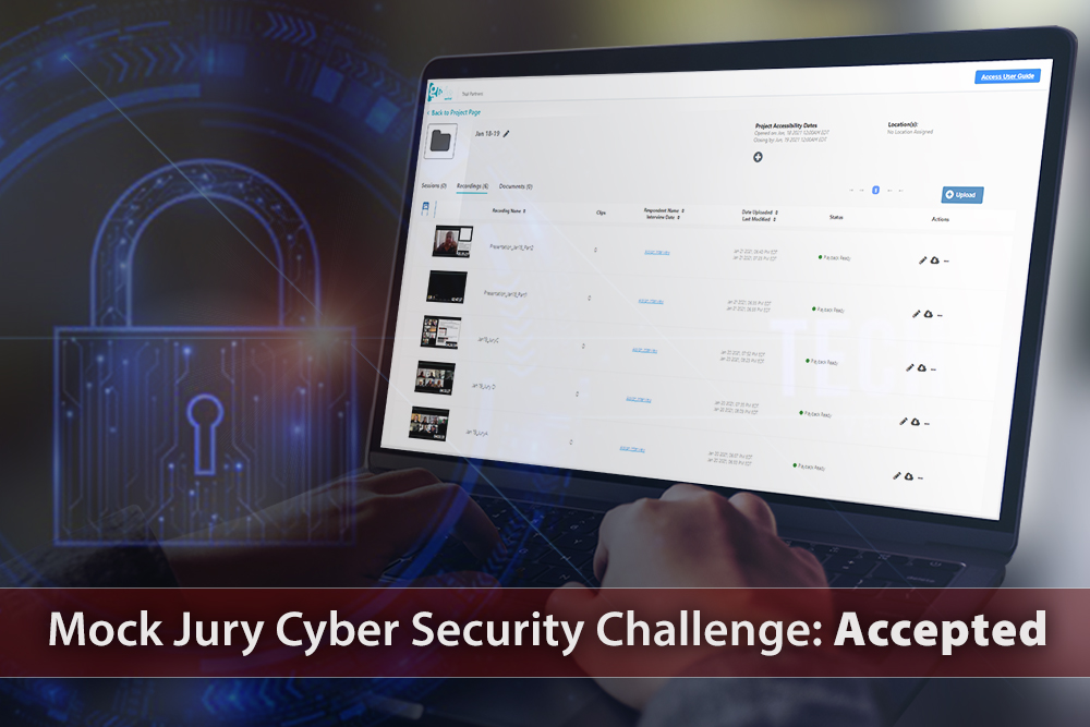 Mock Jury Cyber Security Challenge: Accepted