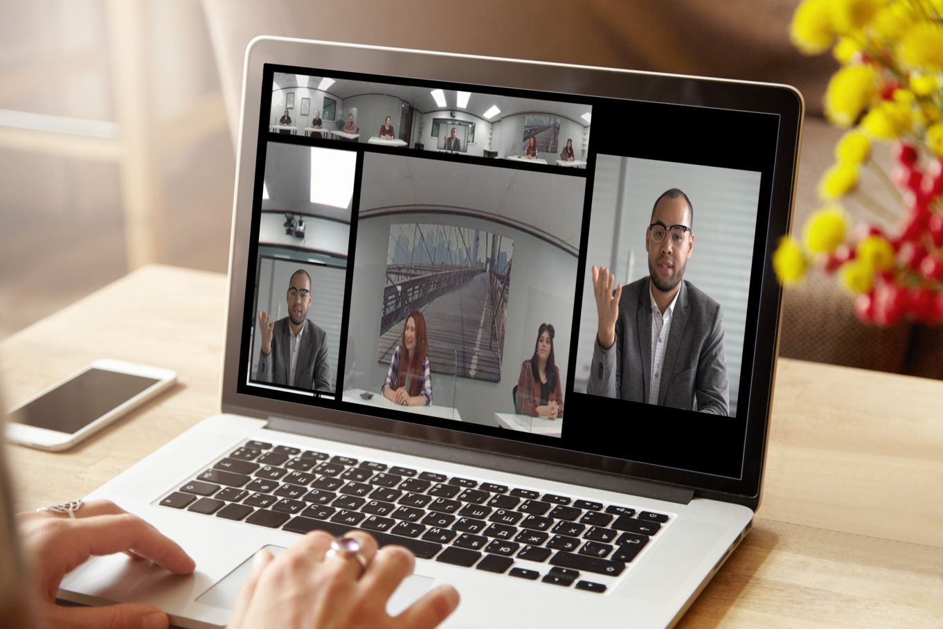 Hybrid: Combining In-Person and Virtual Mock Jury Trials